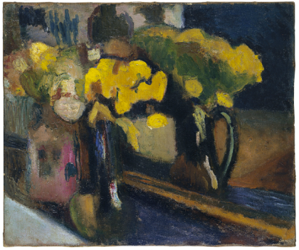 """The Yellow Flowers,"" Henri Matisse, 1902, Oil on canvas, 46 x 54.5 cm (Museo Thyssen-Bornemisza, Madrid)"